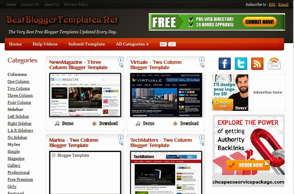 download free blogger templates from best websites urduustaad